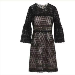 J crew eyelet lace dress size 8